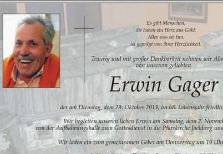 Erwin-Gager